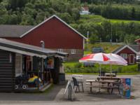 Åpningstider kiosk Storsand Camping