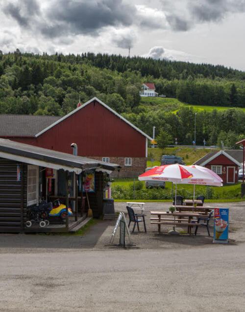 Kiosk Storsand Camping